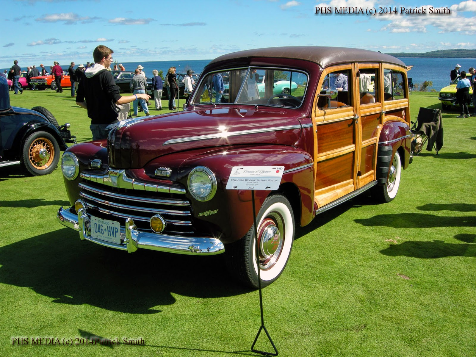 Phscollectorcarworld April 2014 Body Wiring Diagram For 1946 47 Chevrolet Dynamic Coupe Style 1007 This Marvelous Early Example Belongs To John Hogg Of London Ontario A Fresh Restoration It Appeared At The Cobble Beach Concours Delegance Last