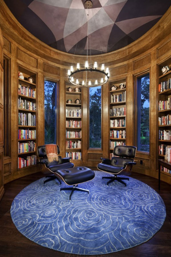 Home Office Library Design Ideas : ... And Efficient Home Office And Library Designs  Home Decorating Ideas