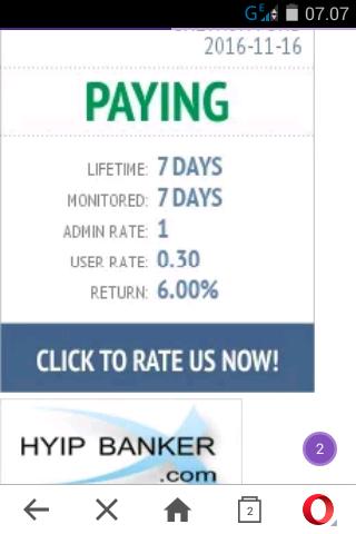 Hyip monitor accept paypal