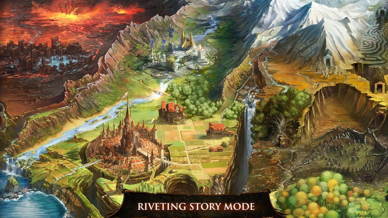 لعبة الاكشن الشيقة Dungeon Hunter 4 مهكرة و اصلية للاندرويد