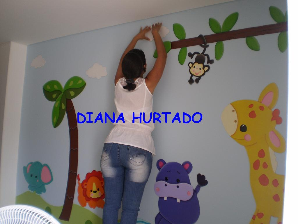 Art decorativo mural para ni os infantiles for Decoracion en pared para ninos
