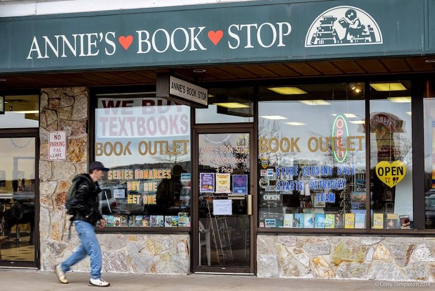 Portland, Maine Annie's Book Stop photo by Corey Templeton