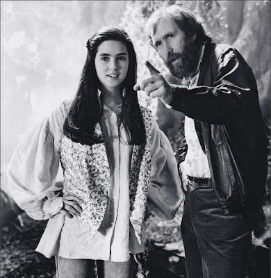 jennifer connelly, Dentro del laberinto, Jim Henson, David Bowie, George Lucas,