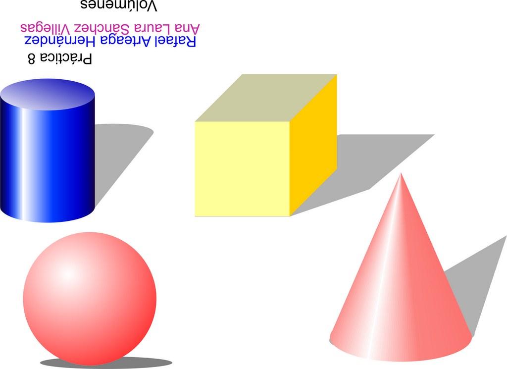 ... tridimensionales como lo pueden ser el cubo, la esfera y el cono con