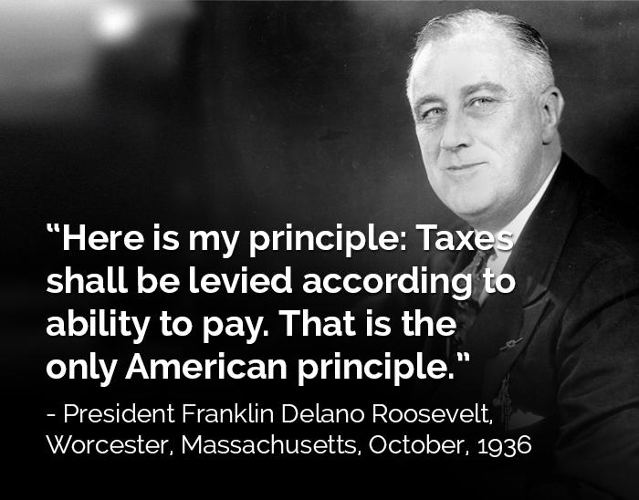 FDR o Taxes