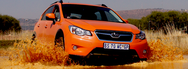 Subaru XV on aMotion.co.za Ground clearance