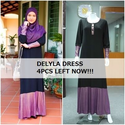DELYLA DRESS | RM75 WM | RM80 EM