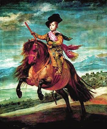 Principe Baltasar Carlos a caballo - Velázquez