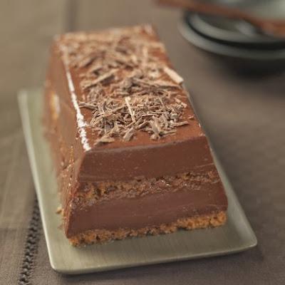 Chef royale b che au chocolat - Buche de noel facile et originale ...