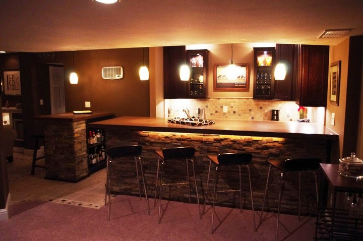 rad pads and other real estate bad ass basement bars