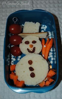 bento snowman