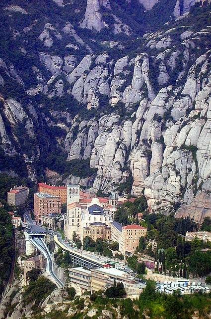 Montserrat, Catalonia - near Barcelona, Spain.
