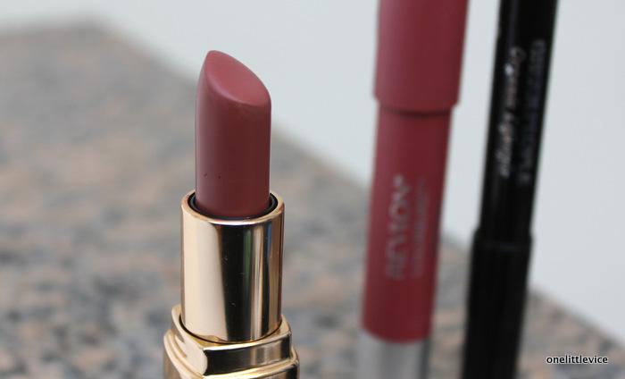 one little vice beauty blog: dark nude lipstick for autumn