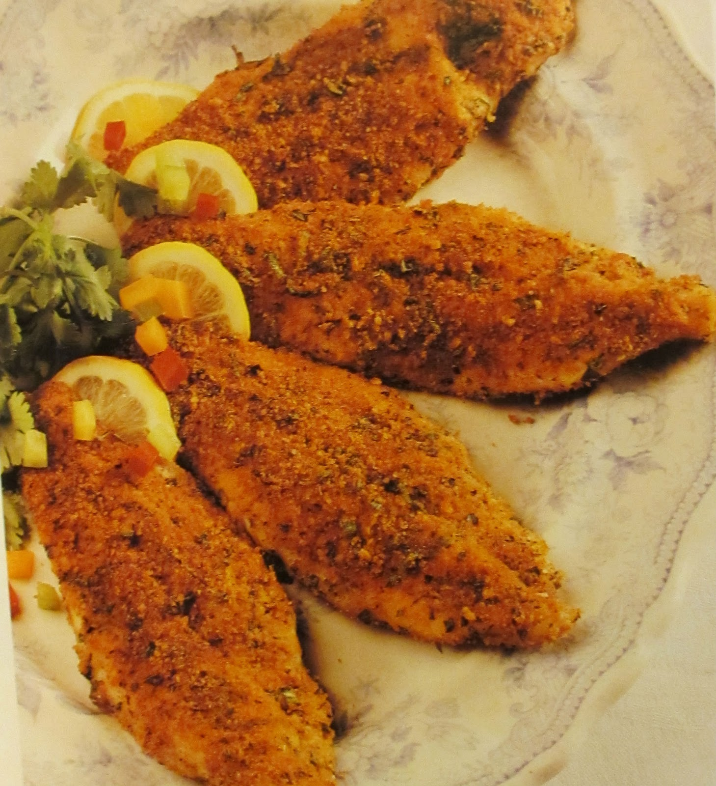 "Creole Cooking Libby: Oven ""Fried"" Catfish"