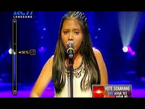 hanin dhiya 10 besar rising star indonesia