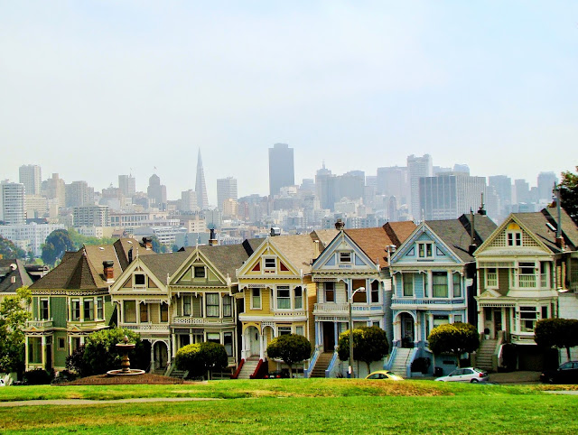 San Fransisco - California - USA - Alamo Square
