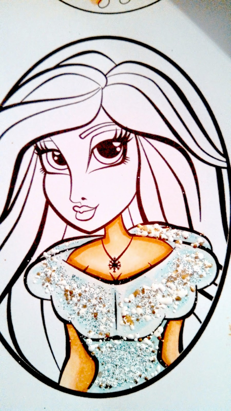 Irenes Card Creations Skin Coloring Tutorial With
