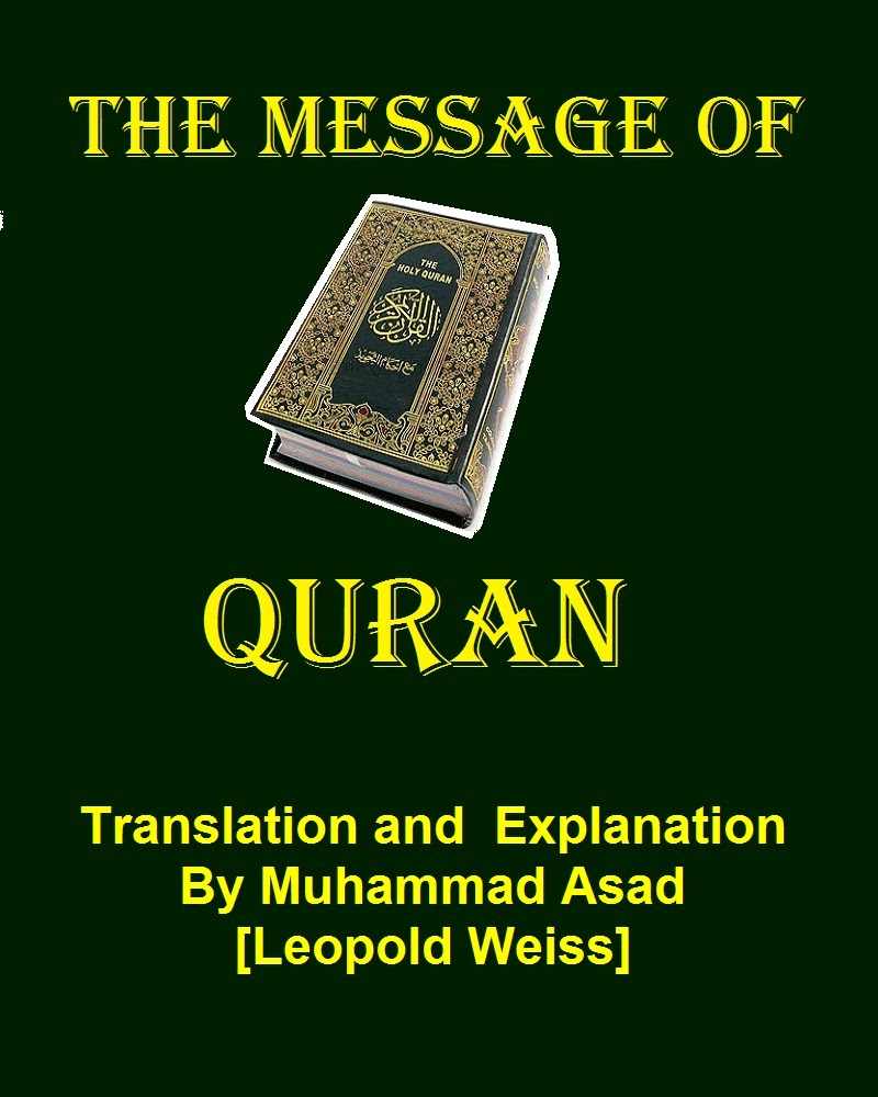 Books articles the message of quran by muhammad asad viewdownload as webpage pdf fandeluxe Gallery