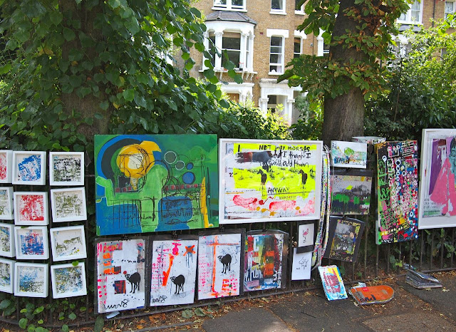 Art on a Brixton Street - Josephine Avenue's annual Urban Art festival, July 2015