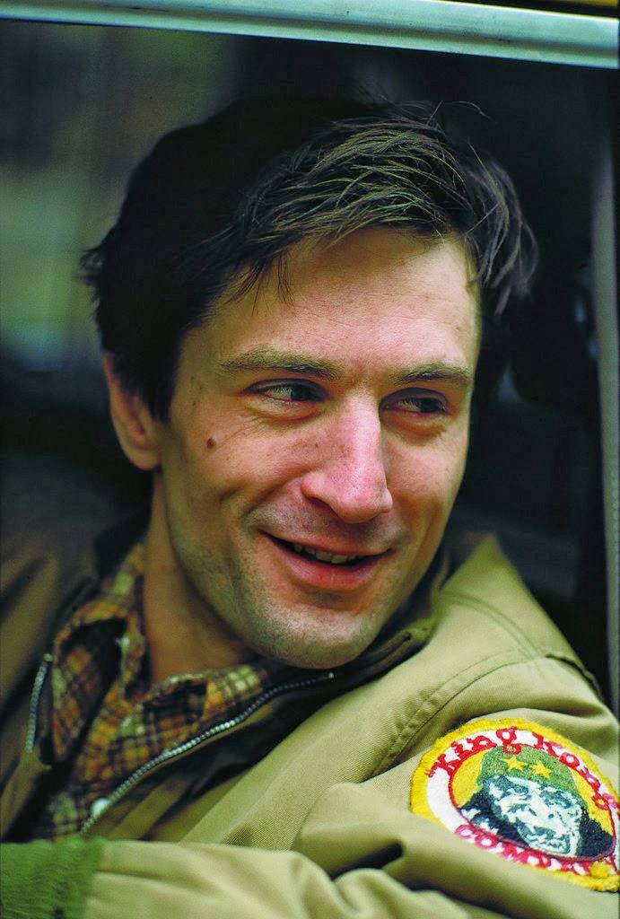 Robert de niro young taxi driver