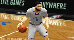 Brooklyn Dodgers-inspired uniforms in NBA 2k14