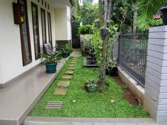 contoh pilihan model desain teras rumah minimalis sederhana