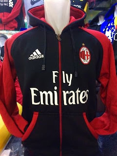 bocoran jaket hoodie ac milan musim 2015