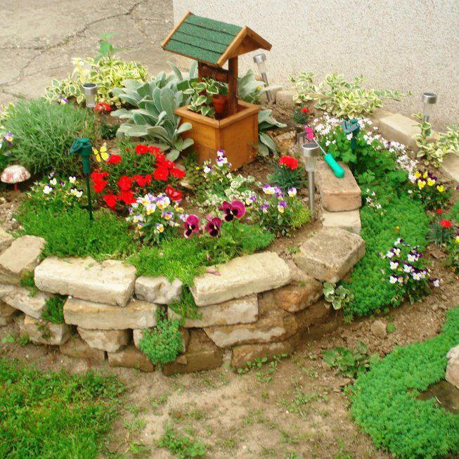 Cosas para compartir jardineria for Decoracion antejardin pequeno