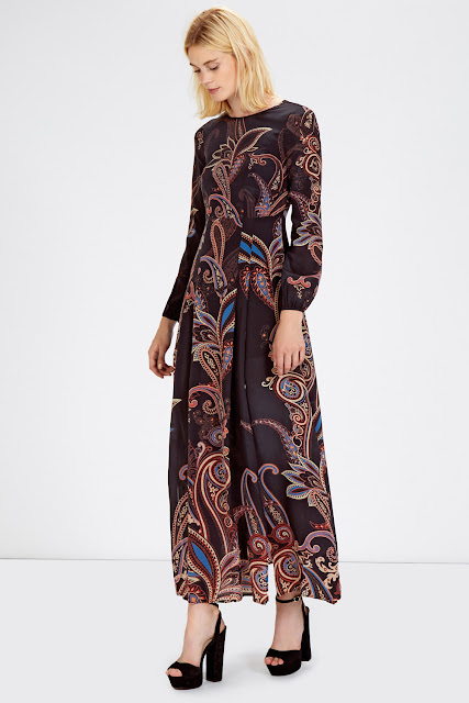maxi dress warehouse, maxi paisley dress, long sleeve maxi dress,