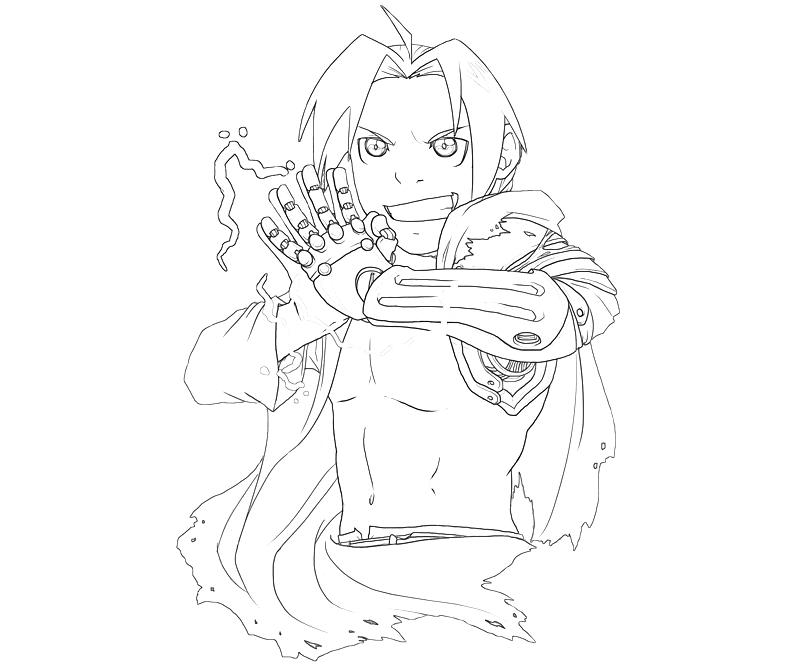 printable-edward-elric-pose_coloring-pages-2