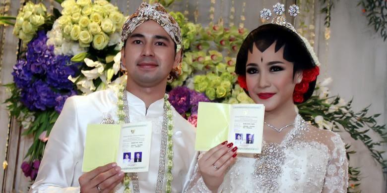 Model Gaun Pesta Pernikahan Raffi Ahmad Nagita Slavina