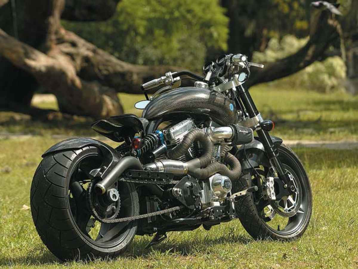 Confederate F124 Hellcat Motorcycle
