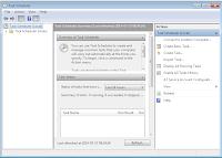 Okno główne harmonogramu zadań Windows - zrzut