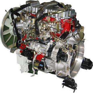 meredam getaran mesin diesel