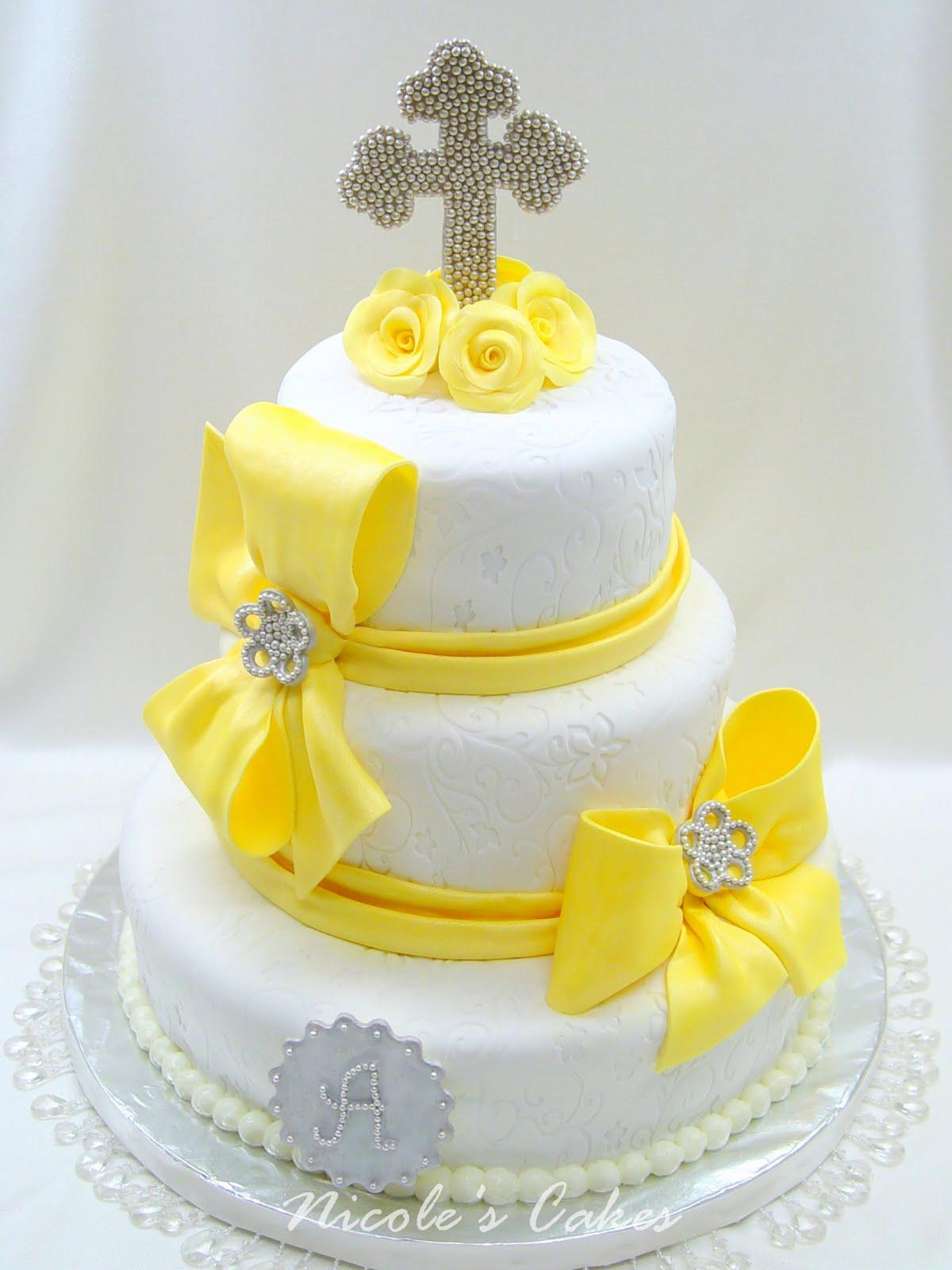 Confections, Cakes & Creations! Elegantly Stylish  ~ 141838_Yellow Cake Decoration Ideas