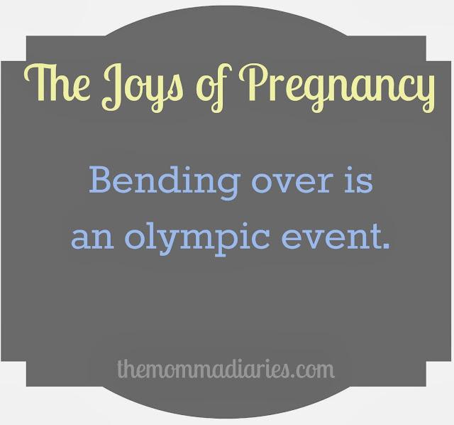 the joys of pregnancy