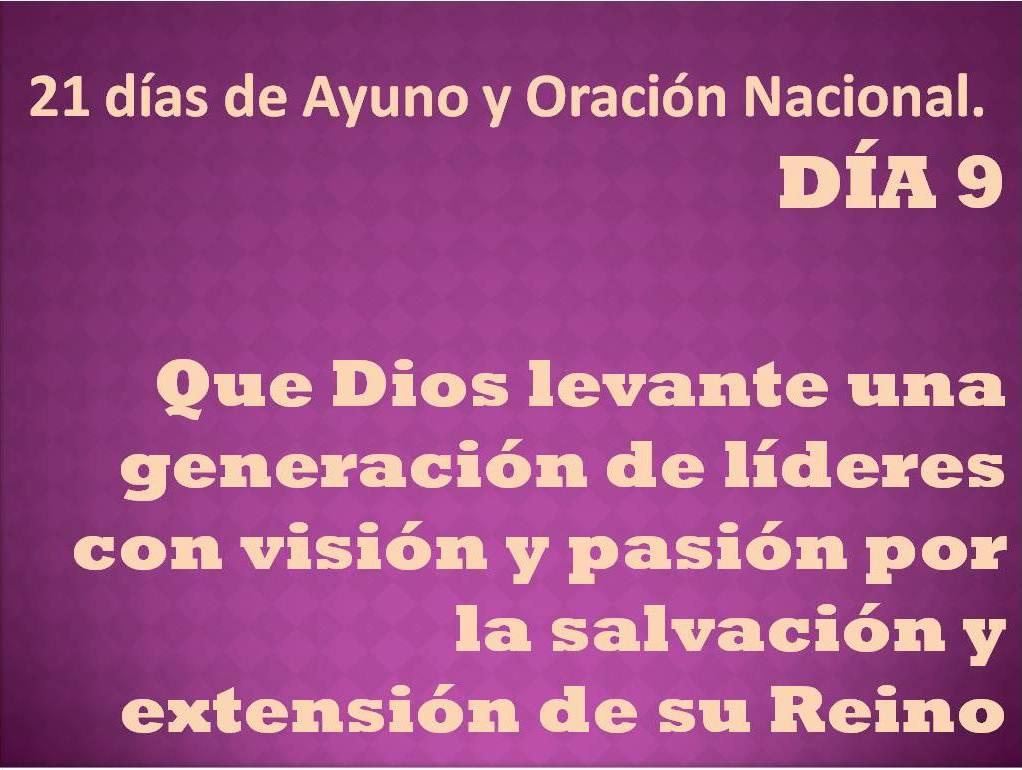Oración del día 9