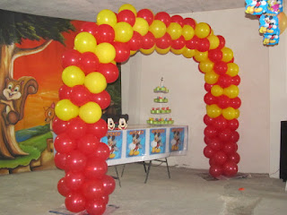 DECORACION MICKEY MOUSE 12 FIESTAS INFANTILES RECREACIONISTAS MEDELLIN
