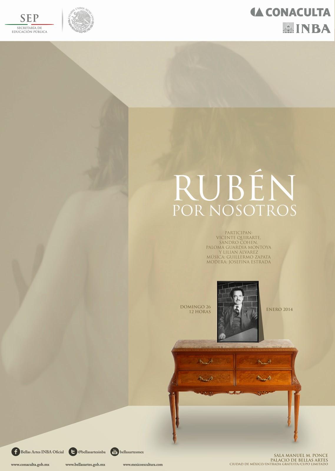 Homenaje a Rubén Bonifaz Nuño en el Palacio de Bellas Artes