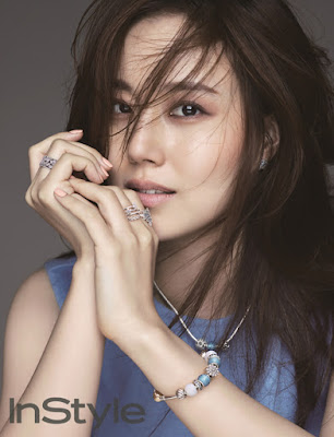 Moon Chae Won - InStyle October 2015