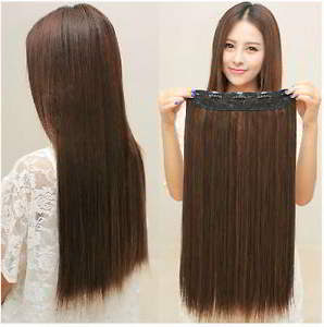 Hair Clip Murah Berkualitas Rambut Asli Panjang