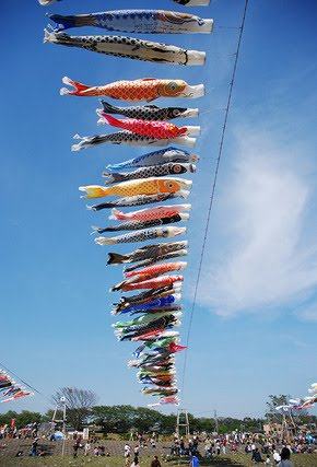 how to make a japanese fish kite