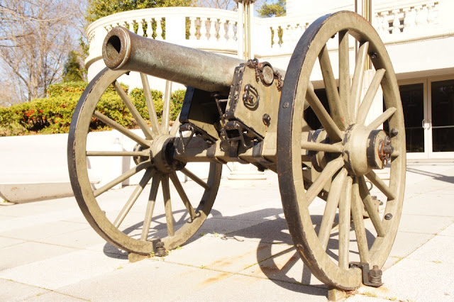Old historic cannon image
