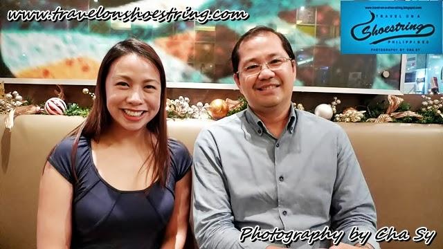 Miss Edylyn Gamboa-Liu  (Fog City Creamery owner) and Mr. Carlos Vergara