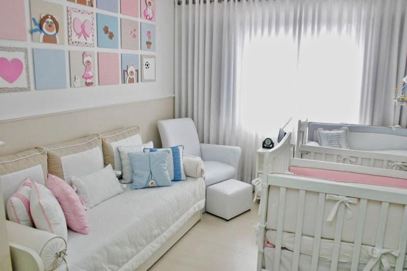 Dormitorio peque o para beb s dormitorios colores y estilos - Como decorar un dormitorio de bebe ...