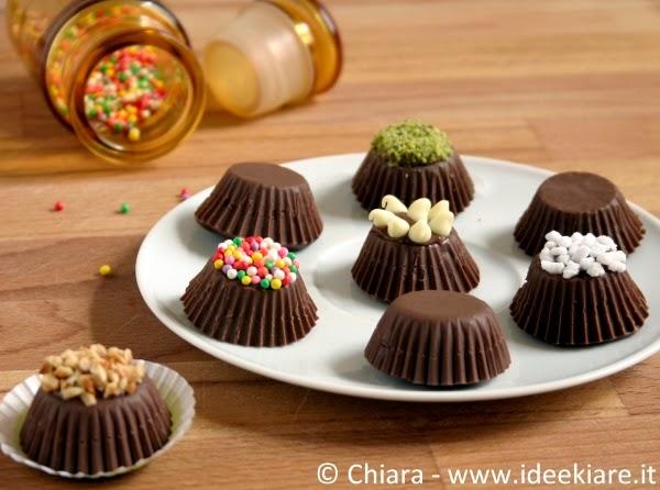 Come preparare cioccolatini ripieni di frutta