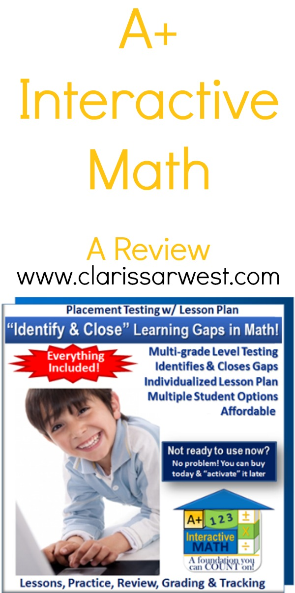 A+ Interactive Homeschool Math Review