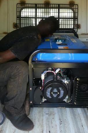 Man caught trying to steal a generator from a church