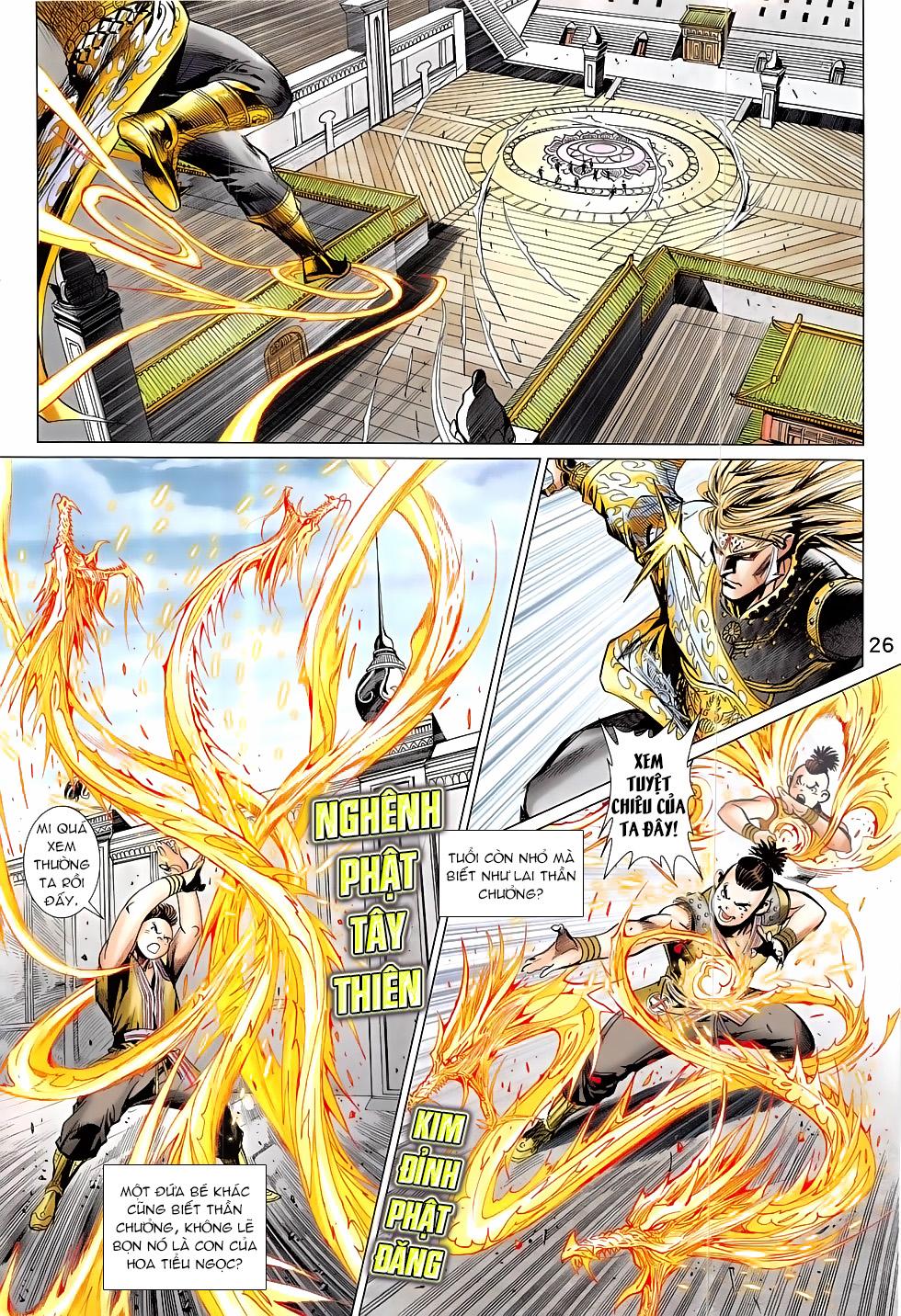 Thần Chưởng chap 24 – End Trang 26 - Mangak.info
