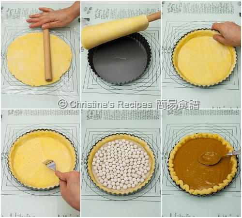 南瓜批皮製作圖 How To Make Pastry02
